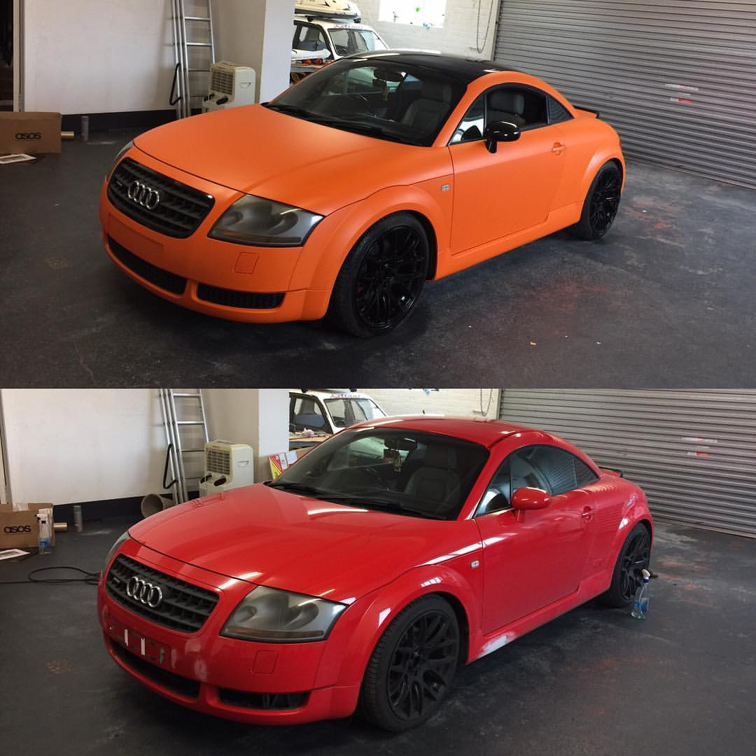 A1 Graphics Ltd vehicle wraps and signage - Services / What - Signage - Full Vehicle Wrap / vehicle Wrapping - Audi