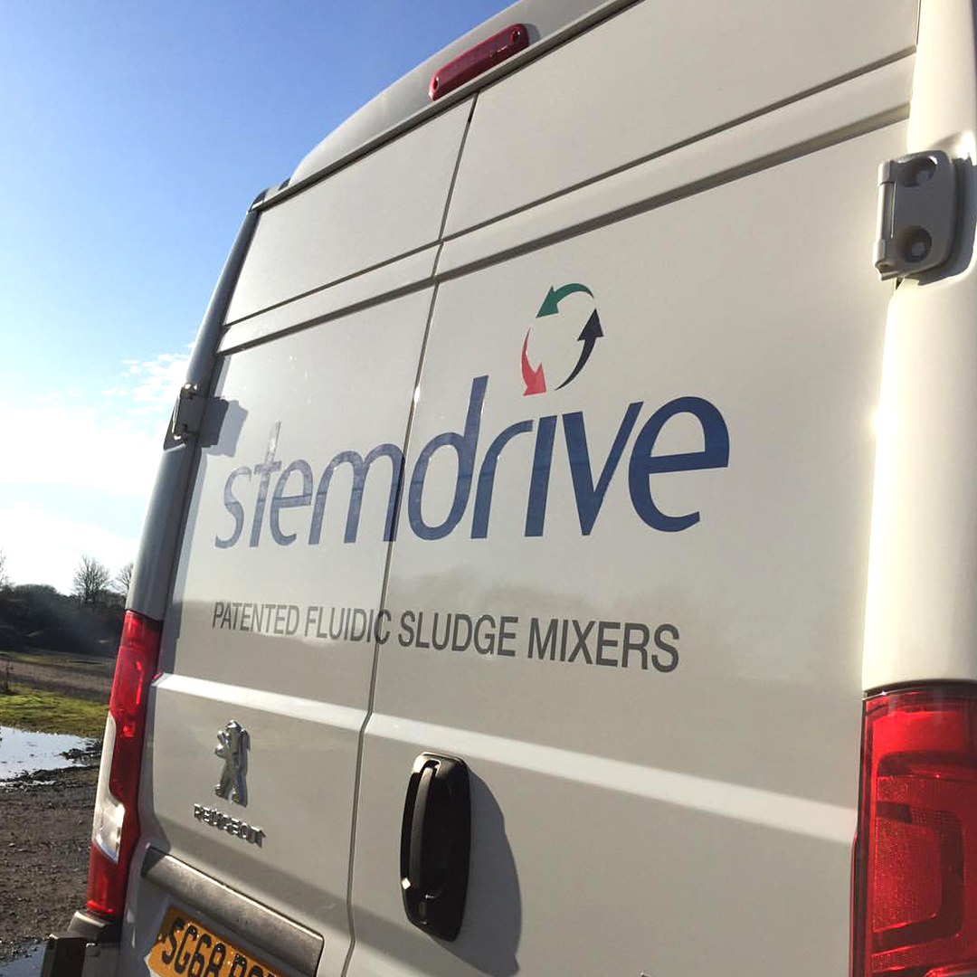 A1 Graphics Ltd vehicle wraps and signage - Services / What - Signage - Partial Vehicle Wrap / vehicle Wrapping - Stemdrive