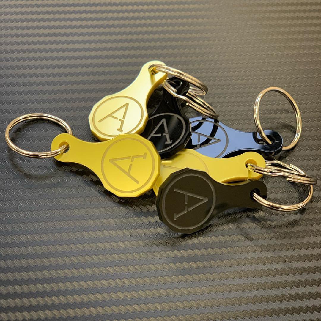 A1 Graphics Ltd vehicle wraps and signage - Services / What - Promo gifts - Keyring