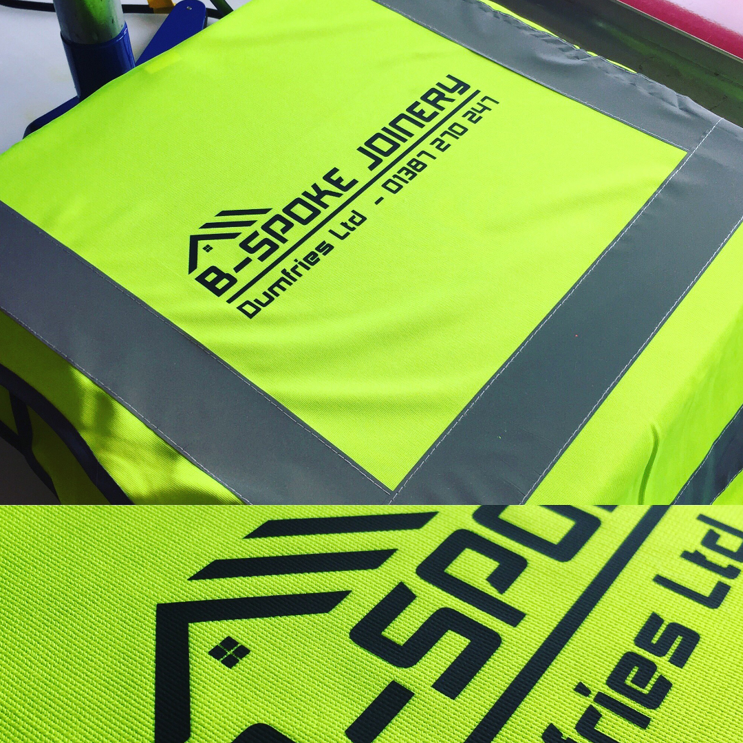 A1 Graphics Ltd vehicle wraps and signage - Services / What - Workwear and Clothing - B-Spoke Joinery