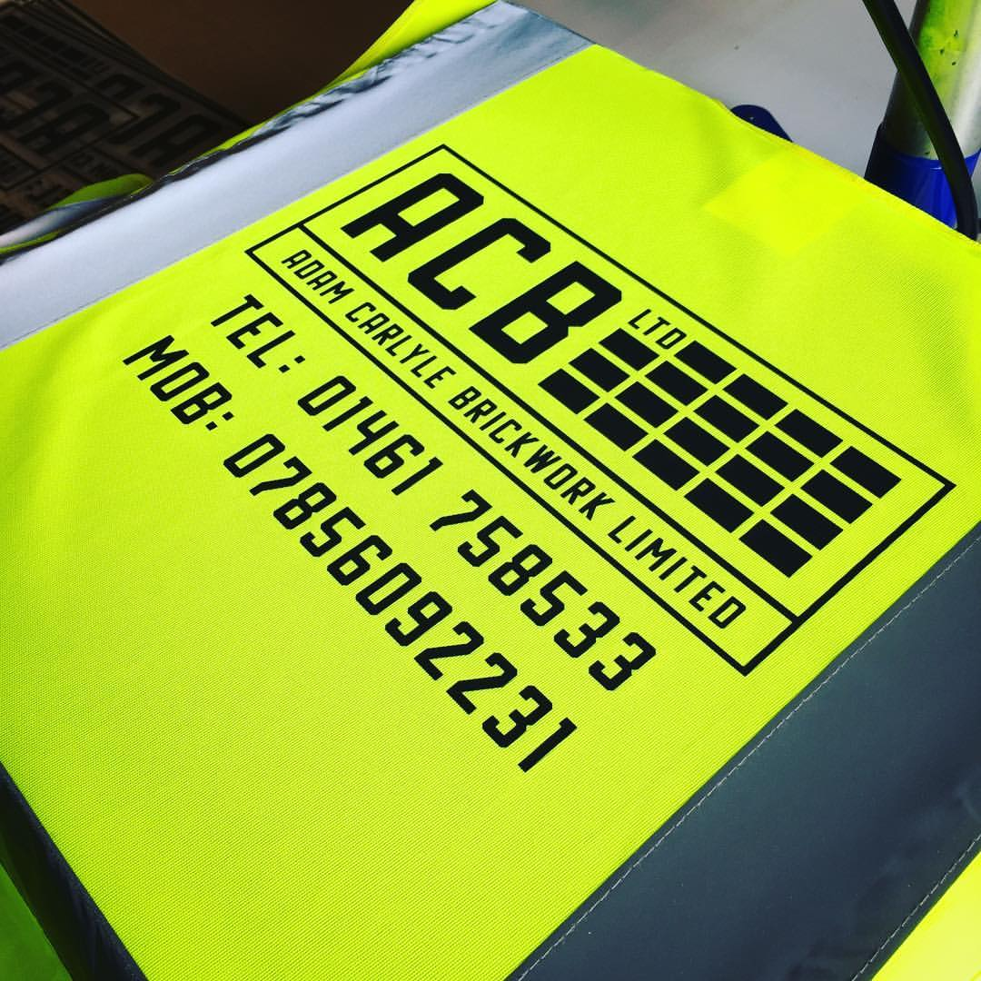 A1 Graphics Ltd vehicle wraps and signage - Services / What - Workwear and Clothing - ACB Ltd